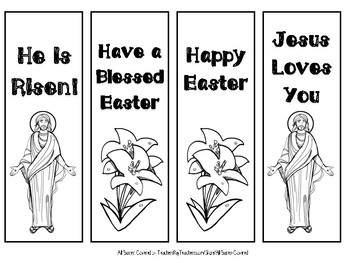 Easter Bookmarks (Religious)