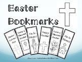 Easter Bookmarks (Religious) ~ Make your own!