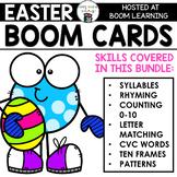 Easter Boom Cards Deck Bundle for Preschool and Kindergart