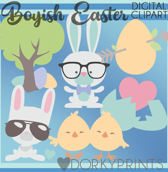 Easter Boy Clipart