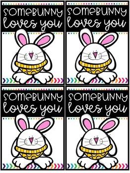Easter Brag Tag FREEBIE!