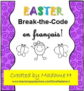Easter Break-the-Code en français!