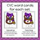 Easter Build a CVC Word Cards