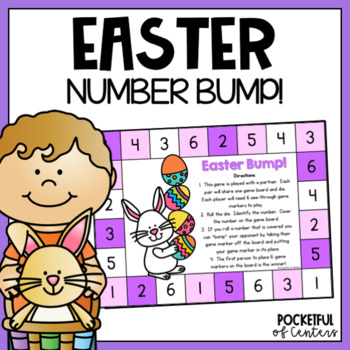 Easter Bump! Number Recognition Game