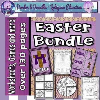 Easter Bundle ~ Celebrating the events of Jesus at Easter