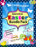 Easter Bundle Pack - Scavenger Hunt/Worksheets/Activities