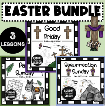 Easter Bundle: Three Sunday School Lessons