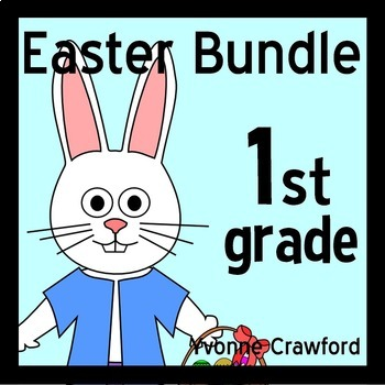 Easter Bundle for First Grade Endless