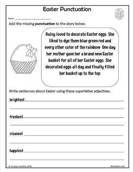 Easter Bundle for Fourth Grade Endless