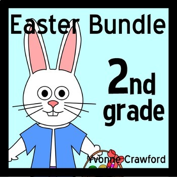 Easter Bundle for Second Grade Endless