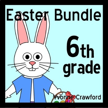 Easter Bundle for Sixth Grade Endless