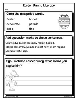 Easter Bundle for Third Grade Endless