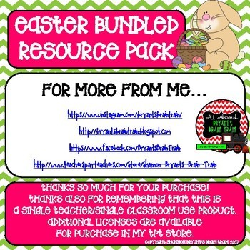 Easter Bundled Resource Pack