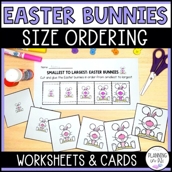 Easter Bunnies - From Smallest to Largest