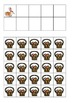 Easter Bunnies and Baskets Ten Frames Games