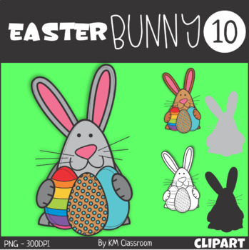 Easter Bunny 10 Clip Art