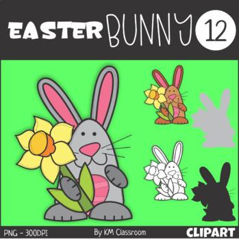 Easter Bunny 12 Clip Art