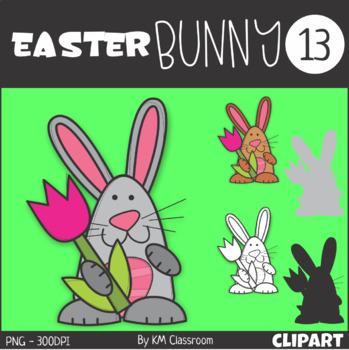 Easter Bunny 13 Clip Art