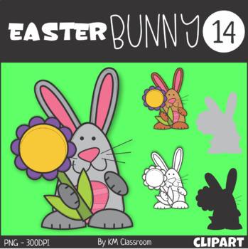Easter Bunny 14 Clip Art