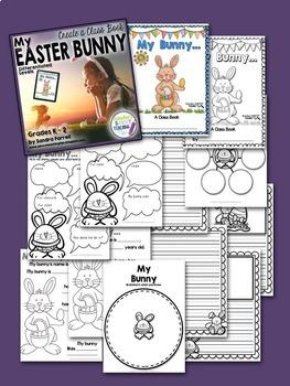 Easter Bunny Class Book
