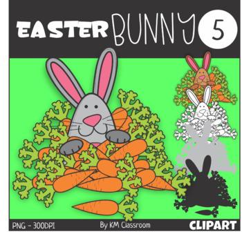 Easter Bunny 5 Clip Art