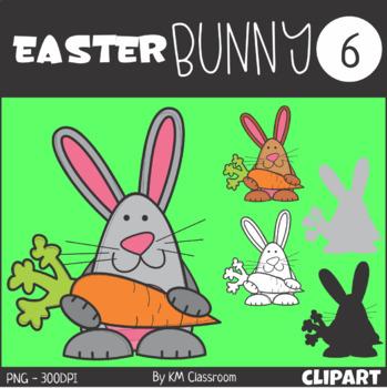 Easter Bunny 6 Clip Art