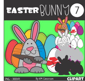 Easter Bunny 7 Clip Art