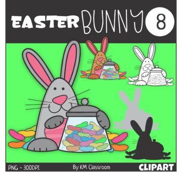 Easter Bunny 8 Clip Art