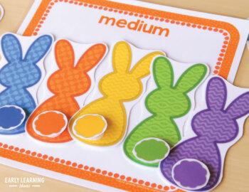 Easter Bunny Activities Bundle | Bunny Math & Literacy Activities