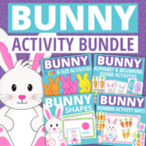 Easter Bunny Activities Bundle | Bunny Math & Literacy Activities