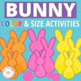Easter Bunny Activities | Color & Size Sorting Activities