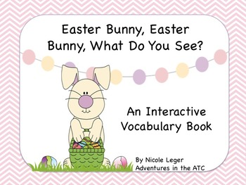 Easter Bunny Adapted Book - Autism