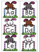 Easter Bunny Alphabet Matching - Upper case and Lower case Match Activity