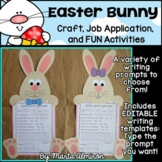 Easter Bunny Application, Craft, and Activities