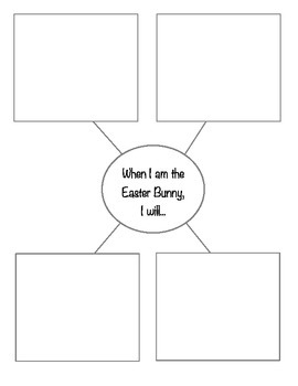 Easter Bunny Application - Easter Writing Prompt