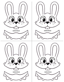 Easter Bunny Art Puppet Project