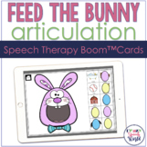 Easter Bunny Articulation BOOM Cards™  | Speech Therapy