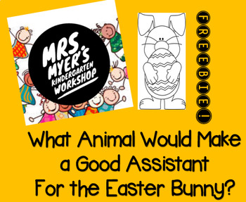 Easter Bunny Assistant Writing - FREEBIE!