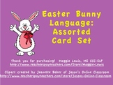 Easter Bunny Assorted Language Card Set