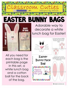 Easter Bunny Bag Activity