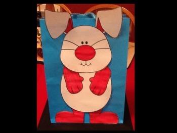 Easter Bunny Bag Decoration