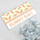 Easter Bunny Bait Treat Bag Toppers for Easter and Spring