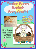 Easter Bunny Basket Simple Craft