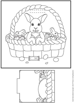 Easter Bunny Basket Simple Craft