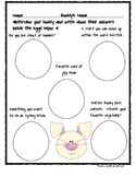 Easter Bunny Buddy Interview Activity