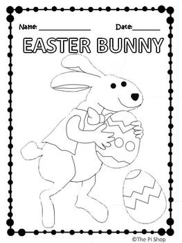 Easter Math Review C.S.I Activity {NO PREP}