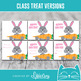 Easter Candy Grams | Bunny Grams | Class Treat or Fundraiser