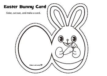 Easter Bunny Card
