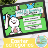 Easter Bunny Categorization Boom Cards™