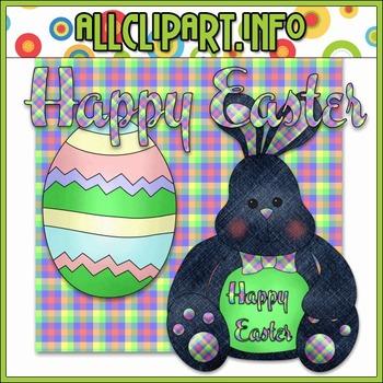 $1.00 BARGAIN BIN - Easter Bunny Clip Art